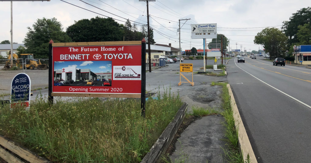 Toyota Lebanon Pa >> Bennett Toyota of Lebanon will move to Route 422 with 30,000 SF dealership - LebTown