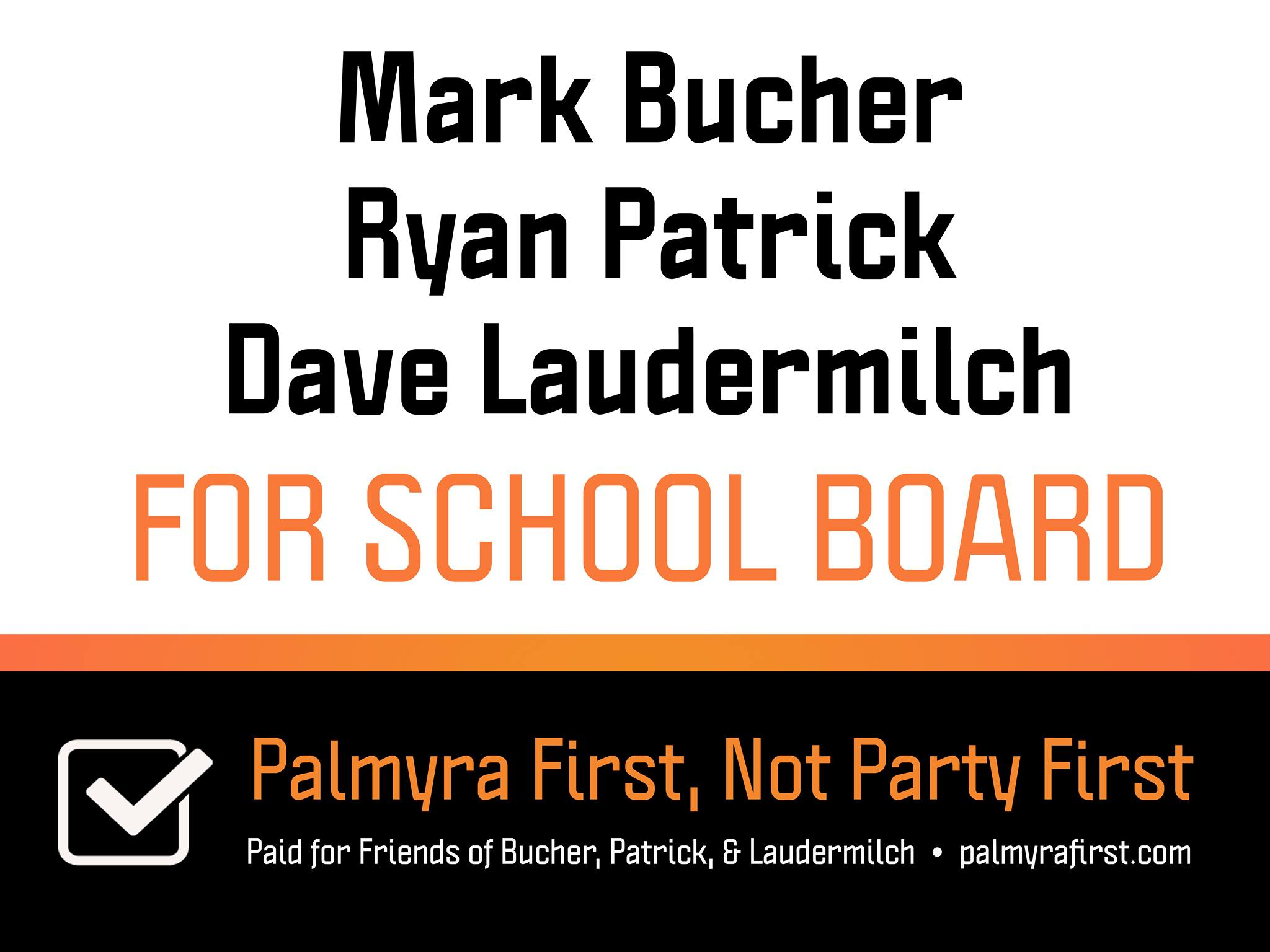 Friends of Bucher Patrick and Laudermilch