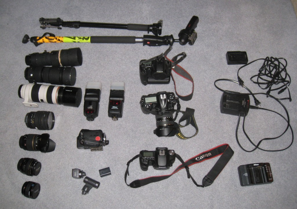 Collegian Photo Gear for the Rose Bowl