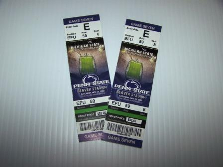 football tickets: