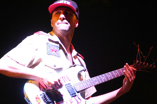 Did someone say Tom Morello? Nope? Whoops!