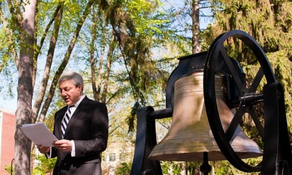 Spanier Bell Dedication