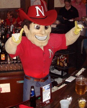 It looks like Herbie Husker would fit right in at Happy Valley