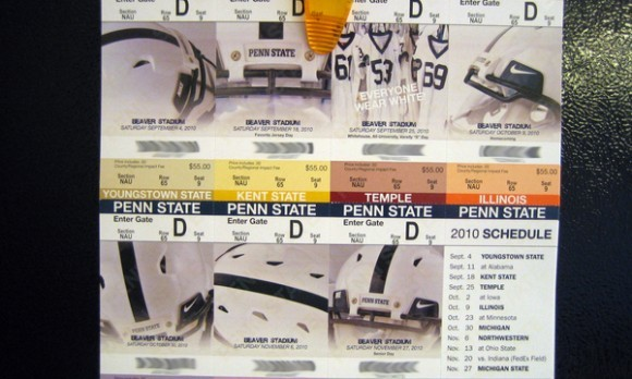 2010 Season Tickets