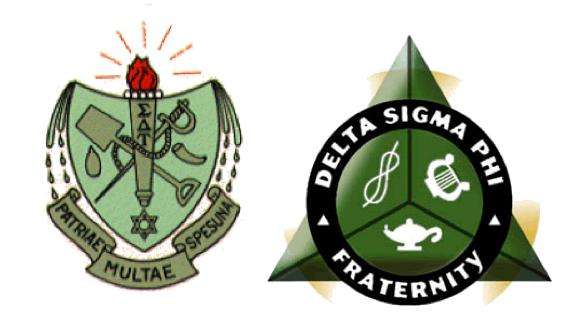 Delta Sigma Phi and Sigma Delta Tau Logos