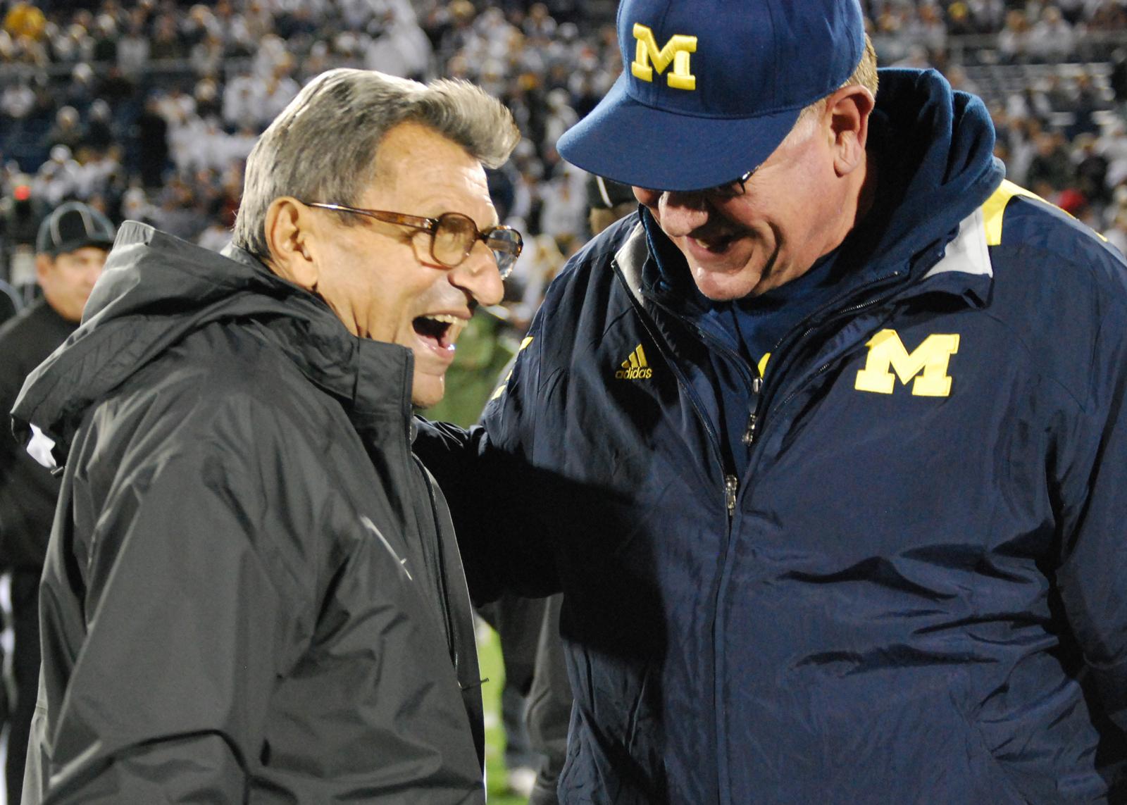 JoePa talking Michigan