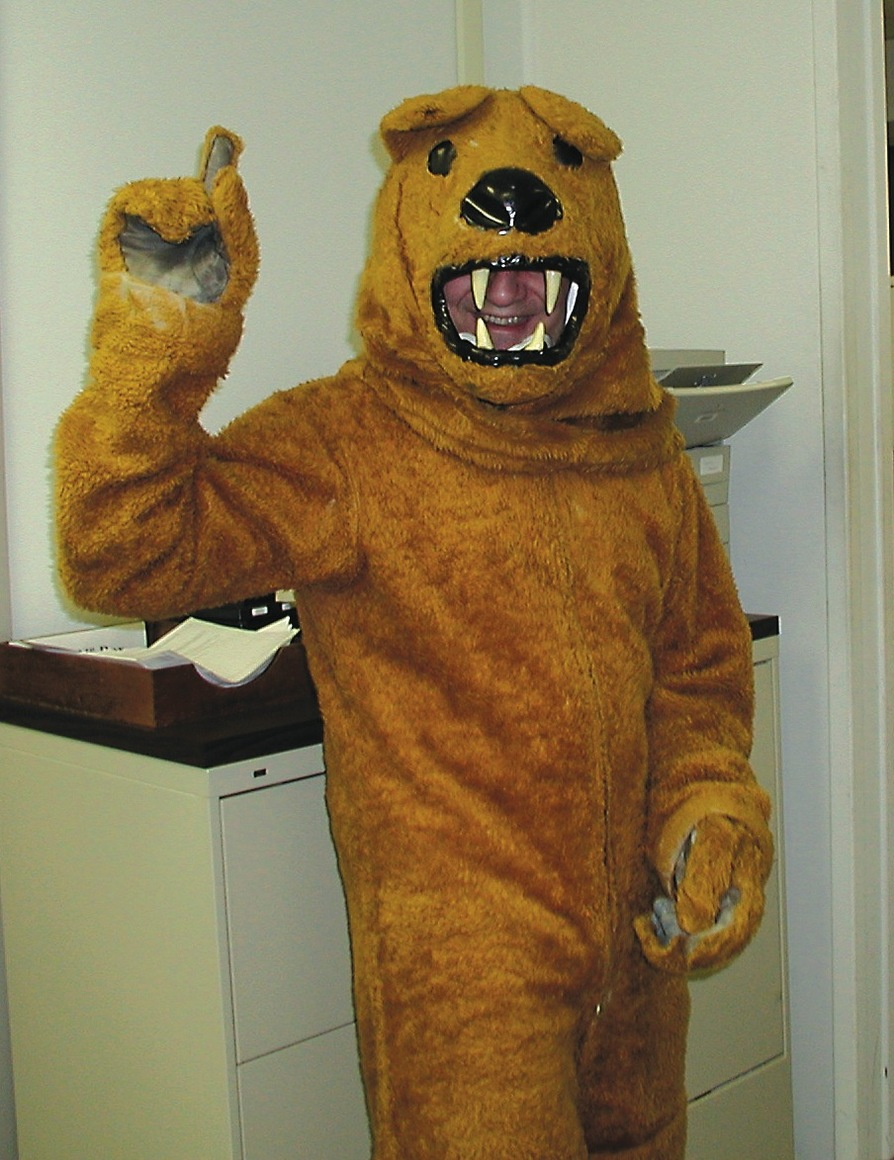 G-Span gets into the Halloween spirit. (via Penn State Live)