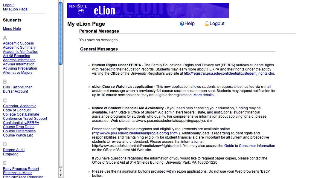 elion screenshot