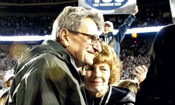 Joe and Sue Paterno