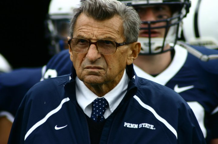 Penn State Coach Joe Paterno