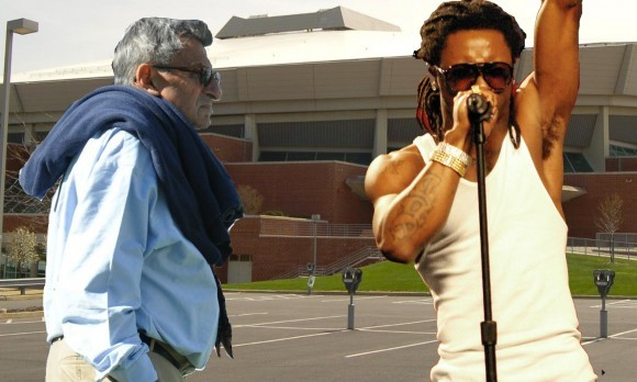 Lil Wayne and Joe Pa