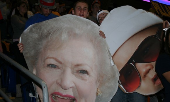 Betty White Baby Carlos Big Head THON