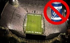 Beaver Stadium No Beer