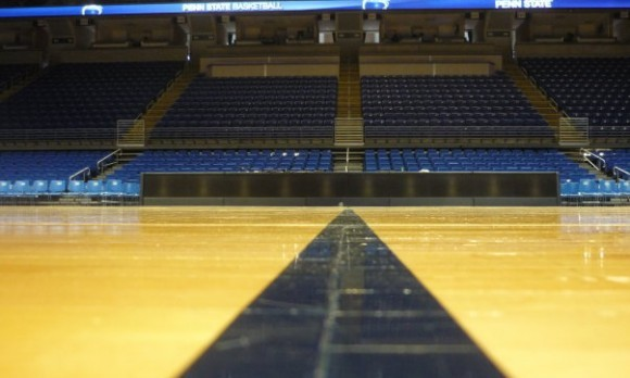 Bryce Jordan Center midcourt