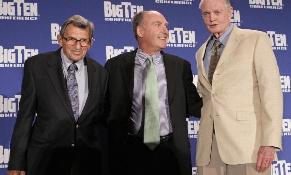 Tom Osborne, Poe Paterno, Jim Delany