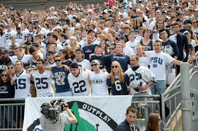 Beaver Stadium student section
