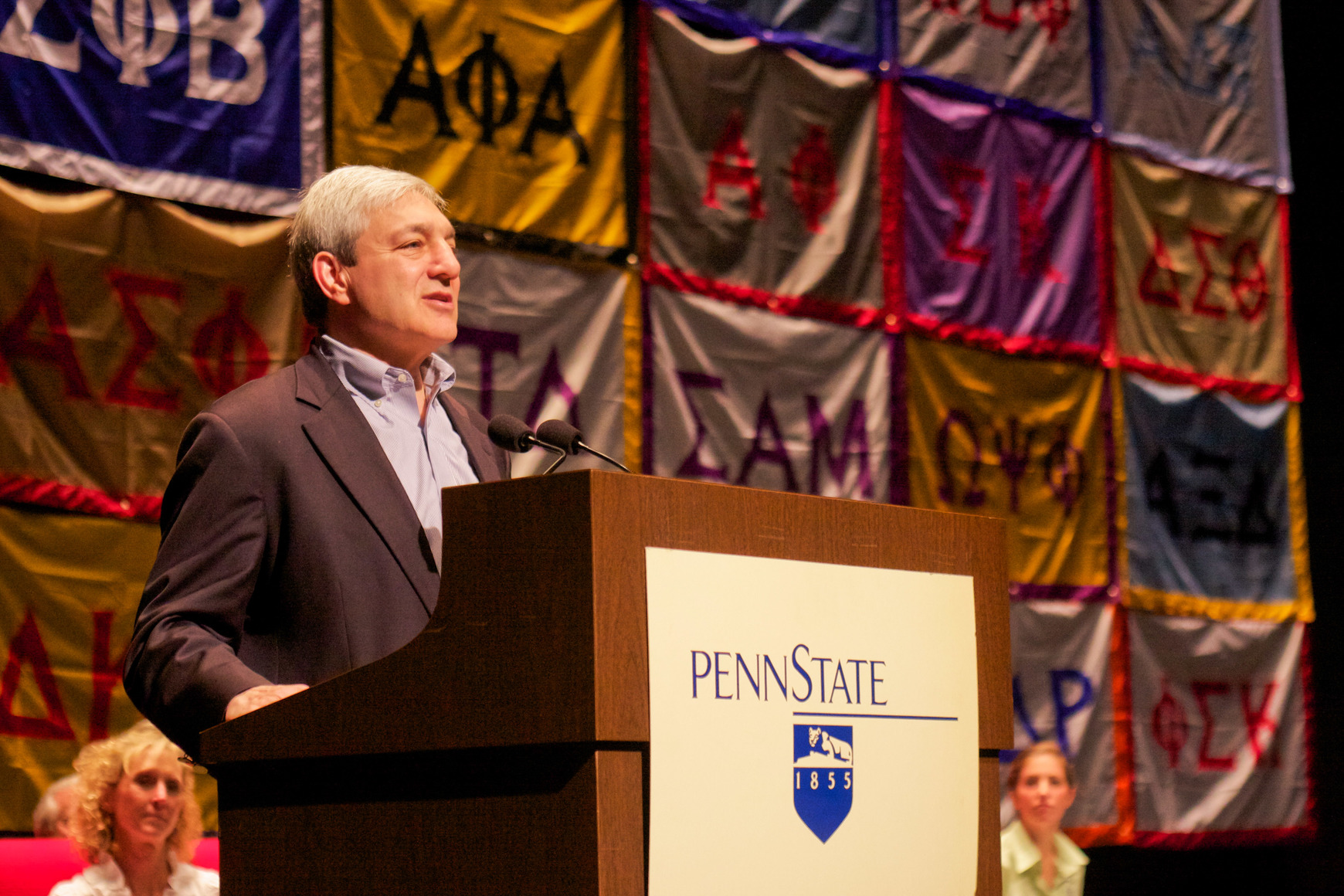 Graham Spanier at Greek Convocation