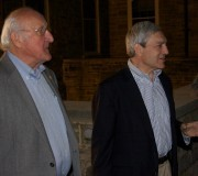 Graham Spanier and Steve Garban
