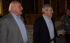 Graham Spanier and Steve Garban
