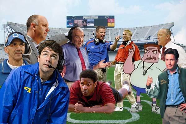 Penn State football coaches