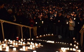 JoePa Candle Light Vigil
