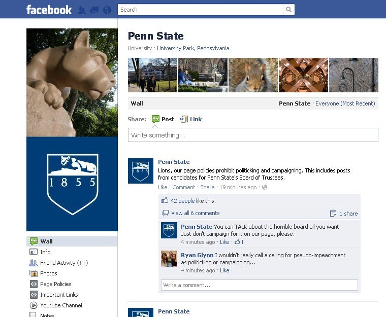 Penn State SM Fail