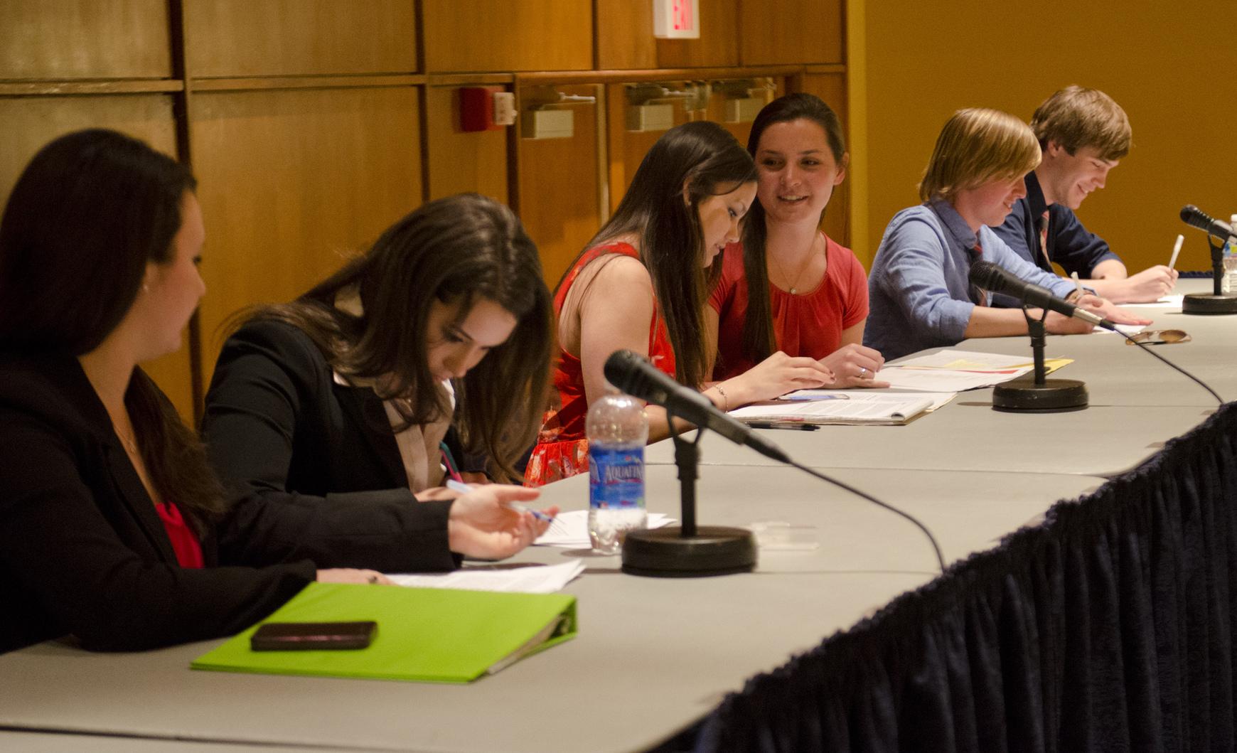 UPUA 2012 debate