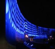 Hershey Med Center in Blue