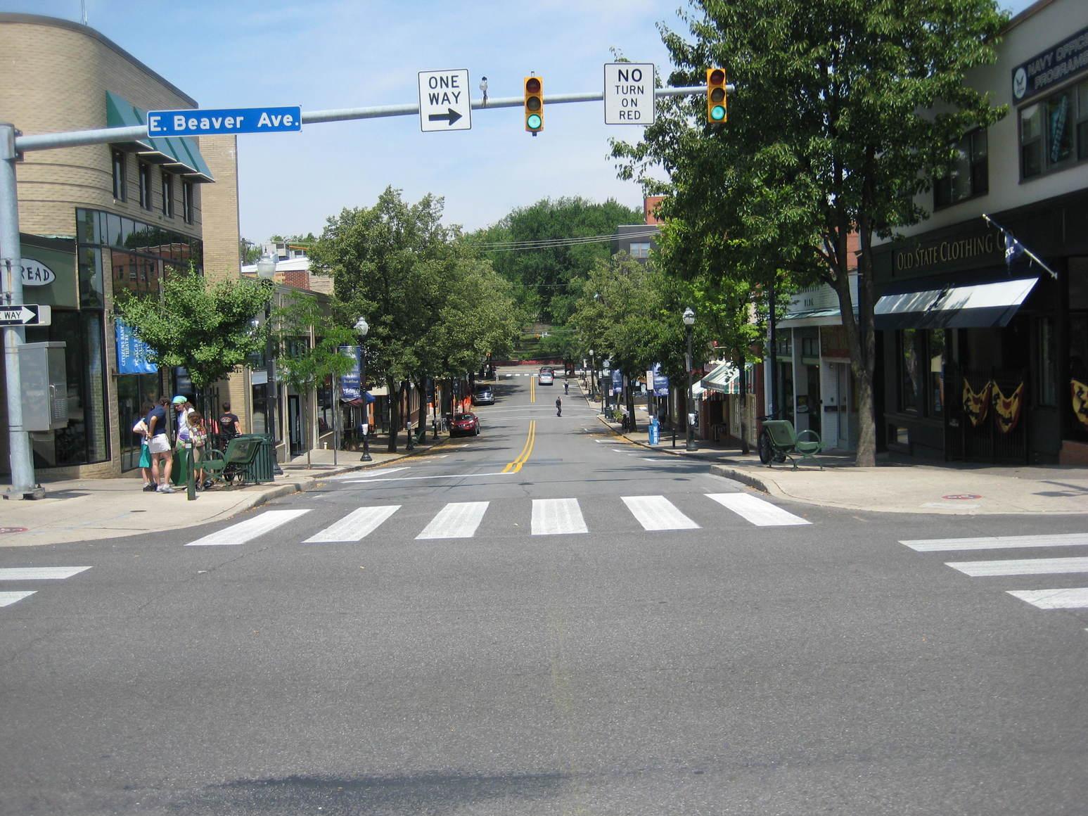 Downtown Allen Street
