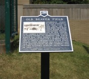 Old Beaver Field Marker