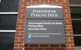 University Police Eisenhower Parking Deck