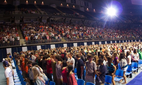 Freshman Convocation - 8.25.12-2
