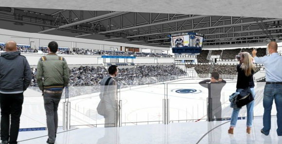 Pegula Entrance Render from GoPSU