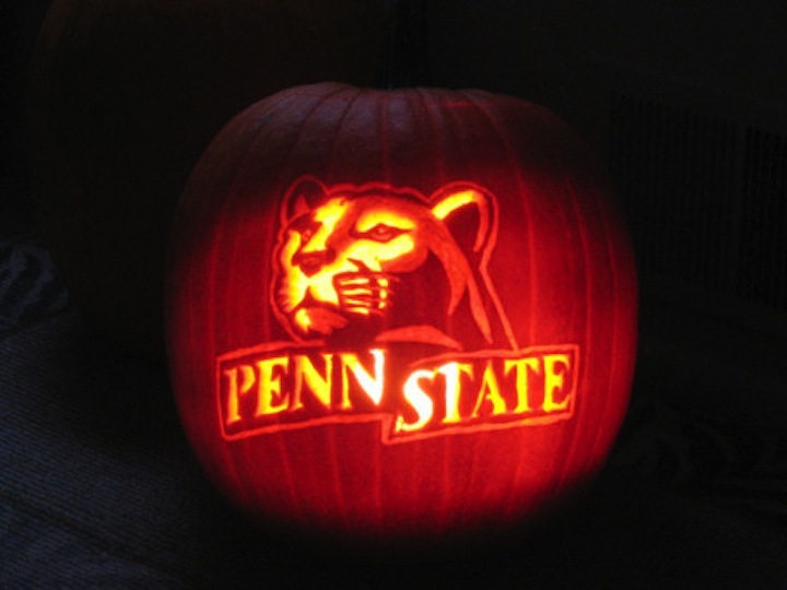 Send us your best penn state pumpkin carvings