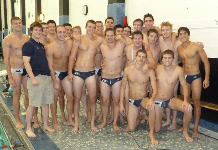 Naked dudes water polo players 3