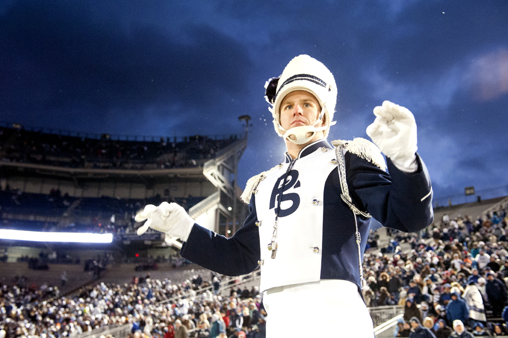Halftime show, Penn State vs. Wisconsin, senior day 2012
