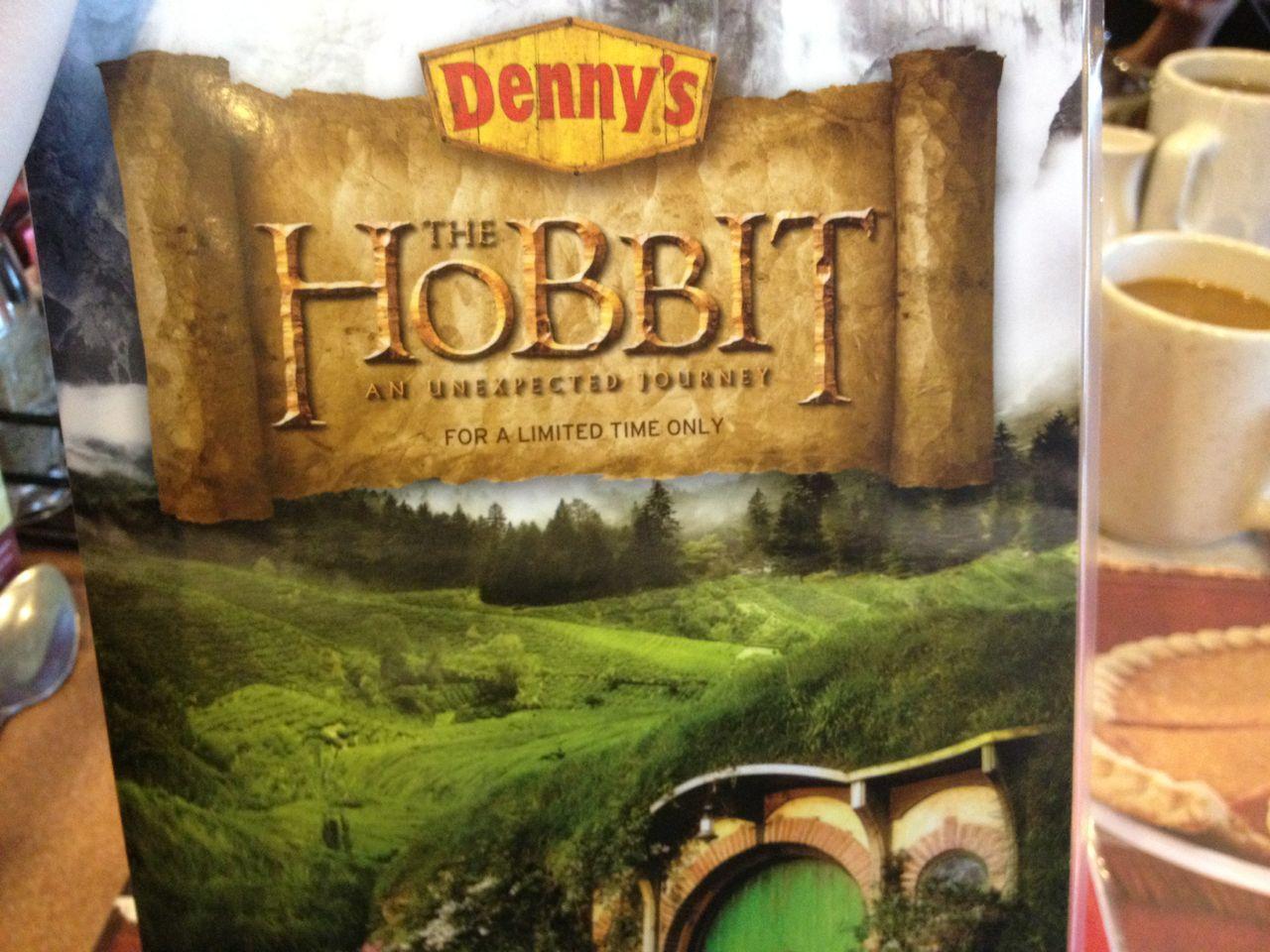 Hobbit menu