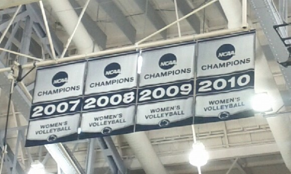 New Volleyball Banners