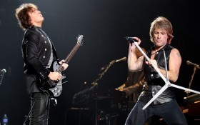 Bon Jovi Performs In Melbourne