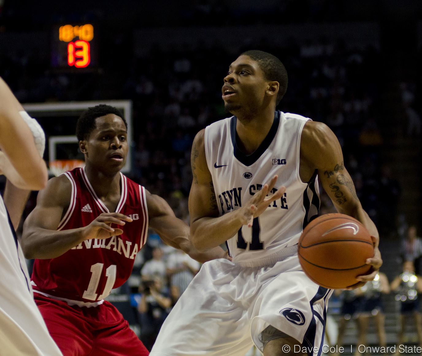 Cole_Penn State Basketball vs Indiana-5