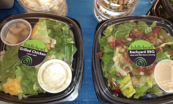 Fiddlehead Salads at Creamery