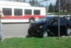 CATA Bus-Car Accident