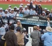 Women's track and field Big Ten Champs