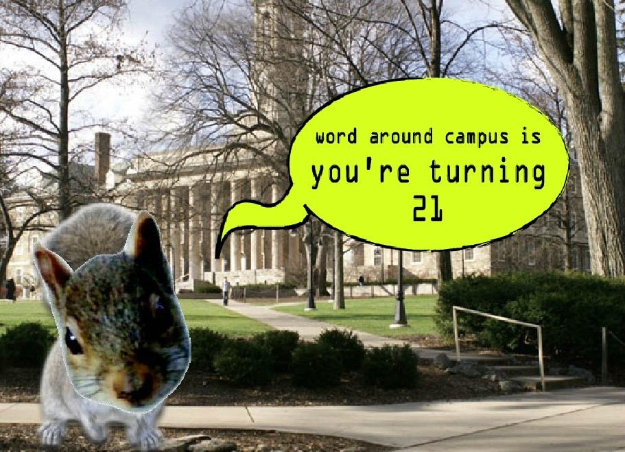 UHS squirrel