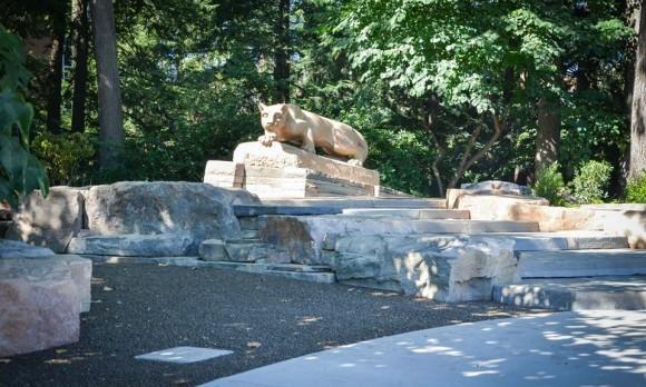 Lion Shrine Front