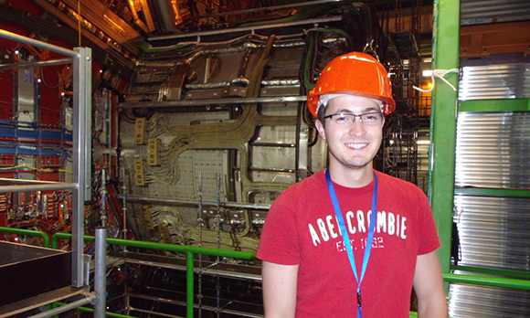 Dan Abercrombie, CERN