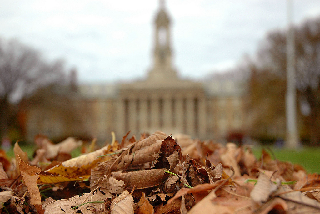 fall penn state old main