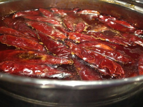 Hot pot hot spot onward state for 100 degree chinese cuisine