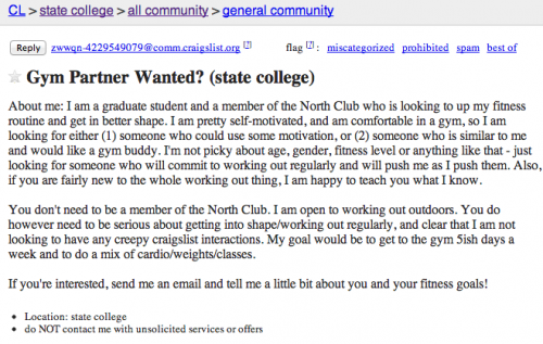 The Best of State College Craigslist