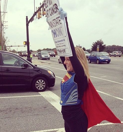 FUTURES president Megan Raynor moonlights as superwoman during canning weekends.
